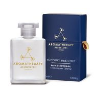Aromatherapy Associates Support Breathe Bath & Shower Oil, 1.86 Fl Oz