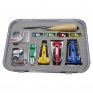 BAOIWEI 11-Piece DIY Edging Device Belt Curler Edging Strip Sewing Tool Set Sewing Equipment Accessories (Multicolor)