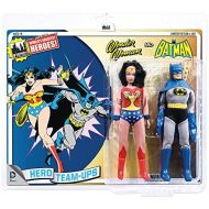 Mattel DC Batman Worlds Greatest Super Heroes Retro Two-Pack Series 3 Wonder Woman & Batman 8 Action Figure 2-Pack