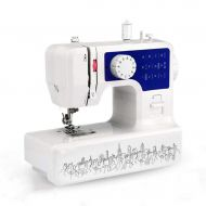 DYW-Sewing machine Portable Sewing Machine Sewing Machines Electric Multi-Function Sewing Machine Sewing Edge Thick Lock Button Eye 12 Pin Clothes Crafts