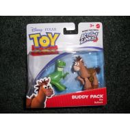 Disney / Pixar Toy Story 3 Exclusive Action Links Mini Figure Buddy 2Pack Rex Bullseye