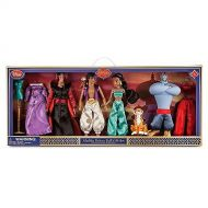Disney (Disney) Aladdin Deluxe Classic Doll Gift Set doll height 30cm Jasmine Aladdin Jeannie Jafa Abu Rajah Dress US Disney Store [parallel import goods]