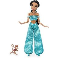 Disney Jasmine Classic Doll with Abu Figure - 11 1/2 Inch