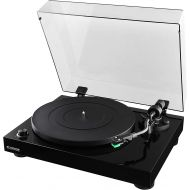 Fluance RT81 High Fidelity Vinyl Turntable Record Player with Dual Magnet Cartridge, Elliptical Diamond Stylus, Belt Drive, Built-in Preamp, Adjustable Counterweight & Anti-Skating