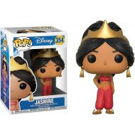 Funko Jasmine: Aladdin x POP! Disney Vinyl Figure & 1 POP! Compatible PET Plastic Graphical Protector Bundle [#354 / 23045 - B]