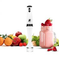 J-Jati Hand-Blender Stick Blender 300 Watt 2 Touch-Speed Immersion Multi-Purpose Hand Blender Heavy Duty Motor Finish Blend any fruit with our Multi-speed Slim In hand Blender Whit