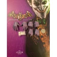 Hot Toys Batman Arkham Asylum VGM27 Joker Gloved Hands x 6 loose 16th scale