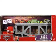 Mattel Hot Wheels Cars Mack Transporter with Diecast Cars