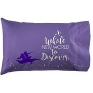 Jay Franco Disney Aladdin Magic Carpet 1 Pack Pillowcase - Double Sided Kids Super Soft Bedding (Official Disney Product)