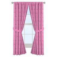Jay Franco Disney Princess Friendship Adventures 84 Decorative Curtain/Drapes 4-Piece Set (2 Panels, 2 Tiebacks)