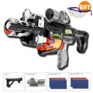 LEPINN Rapid Fire Gun Strike Soft Darts Elite Gift Children Submachine Toy Gift Boy