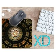 XDDesigns Stained Glass Mouse Pad, Stained Glass Mousepad, Mosaic Rectangle Mouse Pad, Multicolor, Mosaic Circle Mouse Pad, Stain Glass Mat, Computer