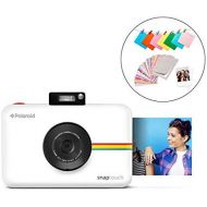 Polaroid SNAP Touch 2.0  13MP Portable Instant Print Digital Photo Camera w/ Built-In Touchscreen Display, White