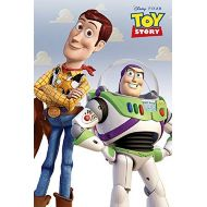 Poster Art House Toy Story Poster, Woody and Buzz, Pixar Version, Size 24x36