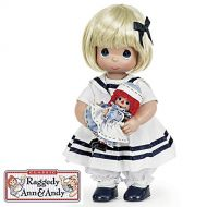 The Doll Maker Precious Moments Dolls, Linda Rick, Marcella and Raggedy Ann, 12 inch doll