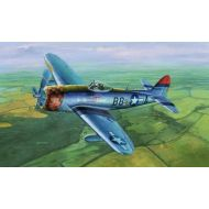 Toys & Hobbies P-47D-30 Thunderbolt Dorsal Fin Aircraft 1:32 Plastic Model Kit TRUMPETER