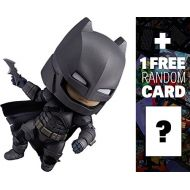 Unknown Armored Batman (Justice Edition): Nendoroid x Batman v Superman Dawn of Justice Mini Action Figure + 1 FREE Official DC Trading Card Bundle (#628)
