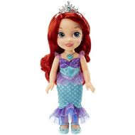 Visit the Disney Princess Store Disney Princess Ariel Doll The Little Mermaid Sing & Shimmer Toddler Doll, Princess Ariel Sings Part of Your World When You Press Her Jeweled Necklace [Amazon Exclusive]