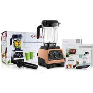 Vitamix 750 Copper Heritage G-Series Blender with 64-Ounce Container + Introduction to High Performance Blending Recipe Cookbook + Getting Started DVD + QuickStart Guide + Low-Prof