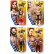 WWE SummerSlam 2017 Series PPV Wrestling Action Figure (Deluxe Full Collector Set) Nikki Bella - Seth Rollins - Dusty Rhodes - The Rock -- WWF Toy Merchandise Summer-Slam Collectib