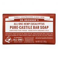 Walgreens Dr. Bronners All-One Hemp Pure-Castile Soap Bar Eucalyptus