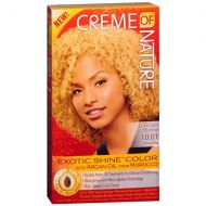 Walgreens Creme Of Nature Argan Oil Exotic Shine Permanent Hair Color Kit,Ginger Blonde