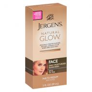 Walgreens Jergens Natural Glow Healthy Complexion Daily Facial Moisturizer SPF 20 Fair to Medium