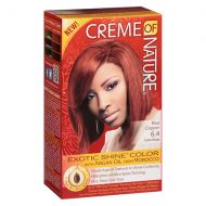 Walgreens Creme Of Nature Nourishing Permanent Hair Color Kit Red Copper