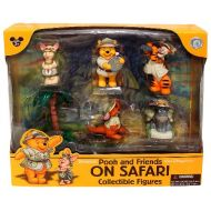 Pooh and Friends On Safari Collectible Figures (Disney Theme Park Exclusive)