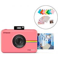 Zink Polaroid SNAP Touch 2.0  13MP Portable Instant Print Digital Photo Camera w/ Built-In Touchscreen Display, Pink