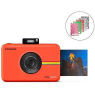 Zink Polaroid SNAP Touch 2.0  13MP Portable Instant Print Digital Photo Camera w/ Built-In Touchscreen Display, Red