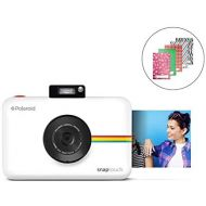 Zink Polaroid SNAP Touch 2.0  13MP Portable Instant Print Digital Photo Camera w/ Built-In Touchscreen Display, White