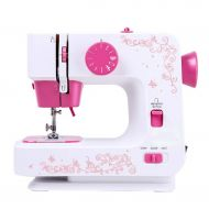 Zyj-Sewing Machine Mini Home Multi-Function Sewing Machines Electric Eating Thick 12 Kinds of Stitch Sewing Machine Clothes Crafts